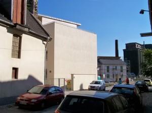 Architektur für den Stadtkern? Fassade an der Fährgasse