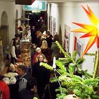 Klosterweihnacht 2011 - Blick in den Kreuzgang
