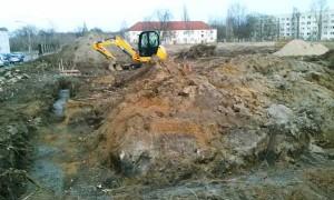 Ein Teil der geplanten 210 Einfamilienhäuser entstehen derzeit im Bernburger Ortsteil Waldau.