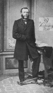 """Dieses Foto zeigt vermutlich den Bernburger Lohgerbermeister Joseph Calm, dessen Festnahme und Befreiung letztendlich den """"Bernburger Bürgermord"""" auf dem Altstädter Markt am 16.03.1849 auslöste."""